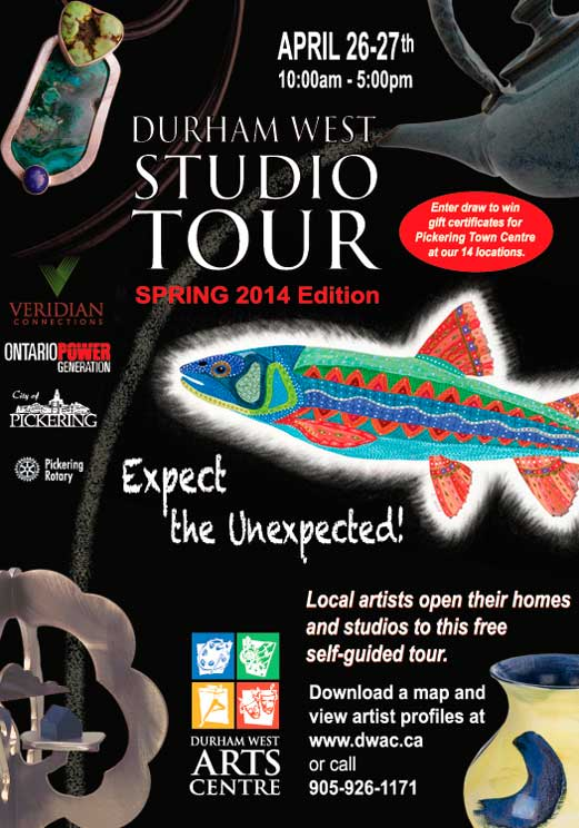 2014 Durham West Studio Tour